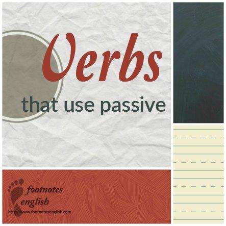Verbs.Passive