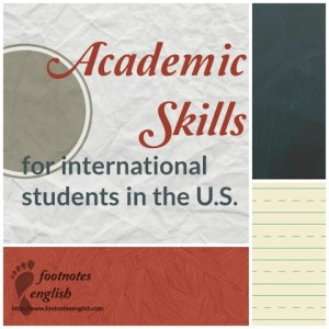 Academic Skills for International Students in the US