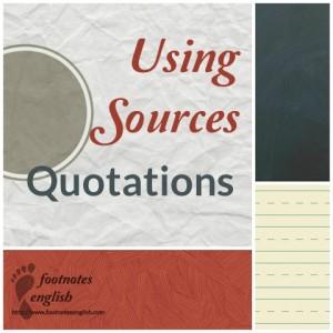 UsingSourcesQuotations